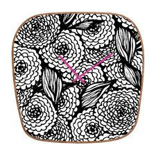 <strong>DENY Designs</strong> Julia Da Rocha Bouquet of Flowers Wall Clock
