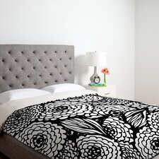 <strong>DENY Designs</strong> Julia Da Rocha Bouquet of Flowers Love Duvet Cover Collection