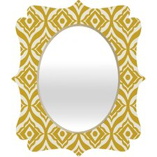 <strong>DENY Designs</strong> Heather Dutton Trevino Quatrefoil Mirror