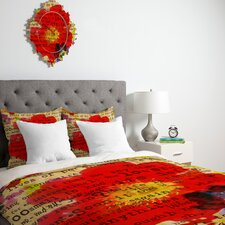 <strong>DENY Designs</strong> Irena Orlov Poppy Poetry 2 Duvet Cover Collection