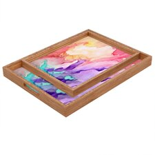Rosie Brown Color My World Rectangular Tray