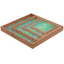 <strong>DENY Designs</strong> Stephanie Corfee Secret Garden Square Tray