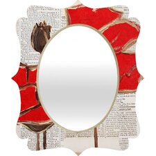 <strong>DENY Designs</strong> Irena Orlov Perfection Quatrefoil Mirror