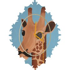 Mandy Hazell Gentleman Giraffe Wall Clock