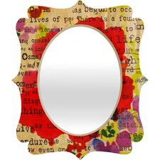 <strong>DENY Designs</strong> Irena Orlov Poppy Poetry 2 Quatrefoil Mirror