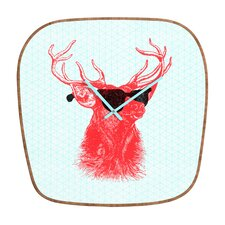 <strong>DENY Designs</strong> Nick Nelson Young Buck Wall Clock
