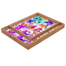 Holly Sharpe Lost in Botanica 1 Rectangular Tray