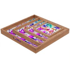 <strong>DENY Designs</strong> Holly Sharpe Lost in Botanica 1 Square Tray