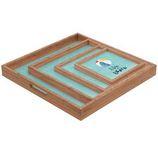 <strong>DENY Designs</strong> Nick Nelson Lifes A Beach Square Tray