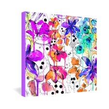 Holly Sharpe Lost in Botanica 1 Gallery Wrapped Canvas