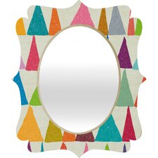 <strong>DENY Designs</strong> Nick Nelson Analogous Shapes in Bloom Quatrefoil Mirror