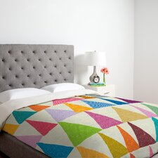 <strong>DENY Designs</strong> Nick Nelson Analogous Shapes in Bloom Duvet Cover Collection