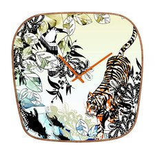<strong>DENY Designs</strong> Aimee St Hill Tiger Wall Clock
