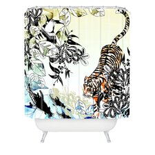 <strong>DENY Designs</strong> Aimee St Hill Tiger Tiger Woven Polyesterrr Shower Curtain