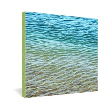 <strong>DENY Designs</strong> Shannon Clark Ombre Sea Gallery Wrapped Canvas