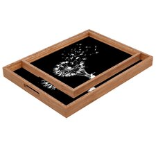 Budi Kwan Going Where The Wind Blows Rectangular Tray