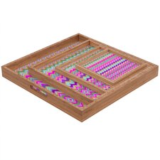 Amy Sia Chevron 2 Square Tray