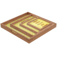 Happee Monkee All You Need Is Love 1 Square Tray