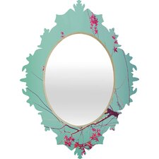 Happee Monkee Red Stars Baroque Mirror