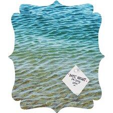 Shannon Clark Ombre Sea Quatrefoil Bulletin Board