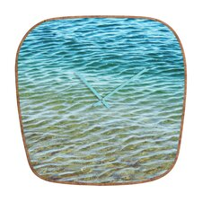 Shannon Clark Ombre Sea Wall Clock