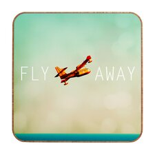Fly Away by Happee Monkee Framed Graphic Art Plaque