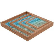 Shannon Clark Ombre Sea Square Tray