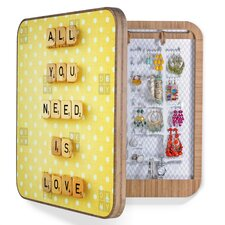 Happee Monkee All You Need Is Love Jewelry Box