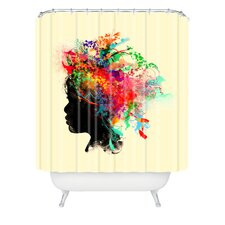 Budi Kwan Wildchild Polyesterrr Shower Curtain