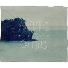 <strong>DENY Designs</strong> Leah Flores Adventure Island Polyesterrr Fleece Throw Blanket