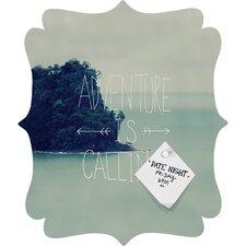 Leah Flores Adventure Island Quatrefoil Magnet Memo Board