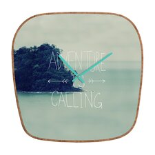 <strong>DENY Designs</strong> Leah Flores Adventure Island Wall Clock