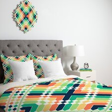 Budi Kwan Retrographic Rainbow Duvet Cover Collection