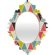<strong>DENY Designs</strong> Heather Dutton Triangulum Baroque Mirror