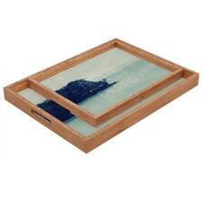 Leah Flores Adventure Island Rectangular Tray