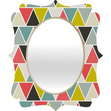 <strong>DENY Designs</strong> Heather Dutton Triangulum Quatrefoil Mirror