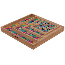 Vy La Love Birds 1 Square Tray