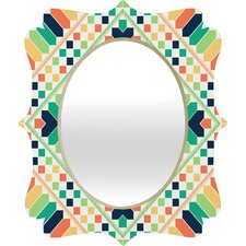 Budi Kwan Retrographic Rainbow Quatrefoil Mirror