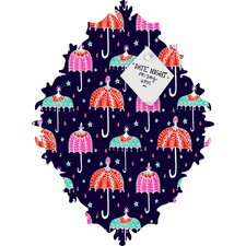 Rebekah Ginda Design Night Shower Baroque Magnet Memo Board