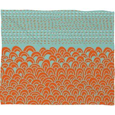 <strong>DENY Designs</strong> Budi Kwan The Infinite Tidal Polyesterrr Fleece Throw Blanket
