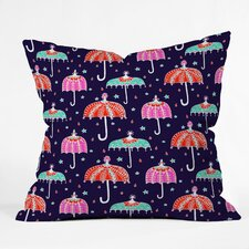 Rebekah Ginda Design Night Shower Throw Pillow
