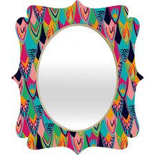 Vy La Love Birds 1 Quatrefoil Mirror