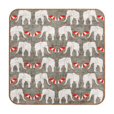<strong>DENY Designs</strong> Holli Zollinger Elephant and Umbrella Wall Art