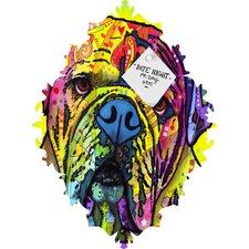 Dean Russo Hey Bulldog Baroque Memo Board