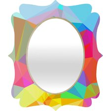 Three of the Possessed Crystal Crush Quatrefoil Mirror