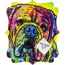 Dean Russo Hey Bulldog Quatrefoil Bulletin Board