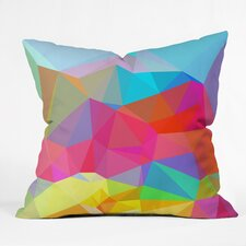 <strong>DENY Designs</strong> Three of the Possessed Crystal Crush Throw Pillow