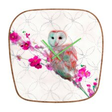 <strong>DENY Designs</strong> Hadley Hutton Quinceowl Wall Clock