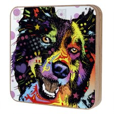 Dean Russo Border Collie Jewelry Box Replacement Cover