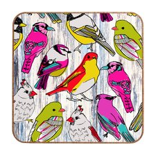 Couture Home Birds Framed Graphic Art Plaque